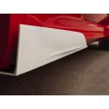 FIAT 500 ABARTH/ 500T Side Rocker Winglets - Cavallino Design - Satin Black Finish