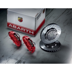 FIAT 500 Brake Conversion Kit - ABARTH/ Brembo Kit (Floating 305mm Rotors)