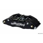 FIAT 500 Brake Conversion Kit - Wilwood DynoPro 6 Piston Front Brake Kit (Black Powder Coat Calipers / Plain Faced Rotors)