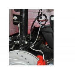 FIAT 500 Brake Line Kit by SILA Concepts - High Performance Brake Line Kit (Stainless Steel)