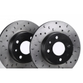 FIAT 500 ABARTH/ 500T/ 500 Brake Rotors by RaceMax - Rear