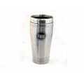 FIAT Coffee Tumbler - Brushed Steel Finish w./ FIAT Logo