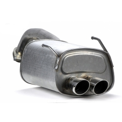 FIAT 500 Performance Exhaust by Magneti Marelli - Single Exit - North American Version (Complete Exhaust System)