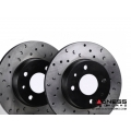 FIAT 500 ABARTH/ 500T/ 500 Brake Rotors - Rear