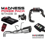 FIAT 500T MADNESS Power Pack - Stage 3
