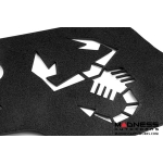 FIAT 500 ABARTH/ 500T Engine Cover for MAXFlow Intake System - Scorpion Design - Black