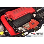 FIAT 500 ABARTH / 500T Factory Air Filter Housing Upgrade Kit - Red Silicone - Deluxe Kit w/ BMC Filter (pre 2015 model)