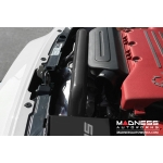 FIAT 500 ABARTH / 500T HIFlow Intake by MADNESS w/ BMC Filter - Black Powder Coated Finish (2015 -  on models)