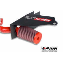 FIAT 500 ABARTH / 500T HIFlow Intake by MADNESS w/ BMC Filter - Red Powder Coated Finish (Pre 2015 Model)