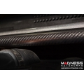 FIAT 500 Front Brace Bar by MADNESS - Carbon Fiber - Gloss Black - Scratch & Dent