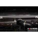FIAT 500 Front Brace Bar by MADNESS - Carbon Fiber - Gloss Red - Scratch & Dent