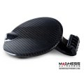 FIAT 500 Fuel Door by MADNESS - Carbon Fiber