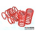 "FIAT 500 Lowering Springs by MADNESS - 2""/ 2.5"" Drop (Aggressive II) - North American Version"