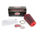 FIAT 500 Ram Air Intake System w/ BMC Filter - Red
