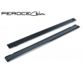 FIAT 500 Door Sills by Feroce - Carbon Fiber