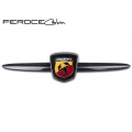 FIAT 500 ABARTH Front Emblem in Carbon Fiber by Feroce