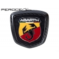 FIAT 500 ABARTH Rear Emblem in Carbon Fiber by Feroce