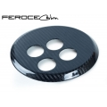 FIAT 500 Gear Panel by Feroce - Carbon Fiber