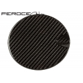 FIAT 500 Fuel Door by Feroce in Carbon Fiber - EU Model
