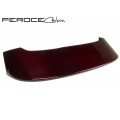 FIAT 500 Roof Spoiler by Feroce - Carbon Fiber - ABARTH Style - Red Candy