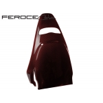FIAT 500 ABARTH Carbon Fiber Sabelt Seat Trim Kit by Feroce - Red Candy