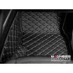 Alfa Romeo Stelvio Cargo Area Liner Kit - Black w/ Orange Stitching