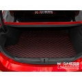 Alfa Romeo Giulia Cargo Mat - with Premium Sound - Black w/ Red Stitching