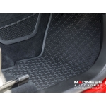 Alfa Romeo Giulia Floor Mat Set - All Weather Rubber Front 2 Piece Set - Deluxe - RWD Model
