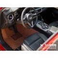 Alfa Romeo Stelvio Floor Liner Set - Brown