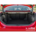 Alfa Romeo Giulia Cargo Area Liner Kit - w/ out Premium Sound - Black w/ Black Stitching