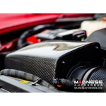 Alfa Romeo Giulia Cold Air Intake - MAXFlow Carbon Fiber Intake System w/ BMC Twin Air Connical Filter