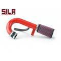 FIAT 500 Ram Air Intake System by SILA Concepts w/ K&N Filter - Red Powdercoat