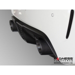 "FIAT 500 Custom Carbon Fiber Exhaust Tips by MADNESS (2) - Carbon Fiber -  2.5"" ID"