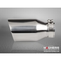 "FIAT 500 Custom Stainless Steel Exhaust Tip by MADNESS (1) - Stainless Steel -  2.5"" ID"