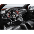 FIAT 500 Custom Dash by Magneti Marelli - Real Carbon Fiber - Matte Finish