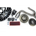 "FIAT 500 Magneti Marelli Performance Kit w/ 17"" Bi Color Wheels - Fits ABARTH/ 500T"