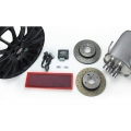 "FIAT 500 Magneti Marelli Performance Kit w/ 16"" Satin Black Wheels - Fits Sport/ Lounge/ Pop"