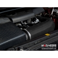 Alfa Romeo Giulia MAXFlow Air Intake Upgrade Kit - Black Silicone