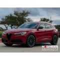 "Alfa Romeo Stelvio Lowering Springs by MADNESS - 50mm/ 2"" Drop"
