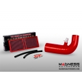Alfa Romeo Stelvio MAXFlow Air Intake Upgrade Kit w/ BMC Filter - Red Silicone