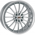 "FIAT 500 Custom Wheels by Team Dynamics - Jet - 17"" - Hi Power Silver"