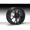 "FIAT 500 Custom Wheels - Competizione CV-2 17x7.5"" - Matte Black Finish"