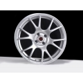 "FIAT 500 Custom Wheels - Competizione CV-2 17x7.5"" - Silver Finish"