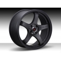 FIAT 500 Custom Wheels - Competizione 17x7.5 (set of 4) - GTR Design - Flat Black